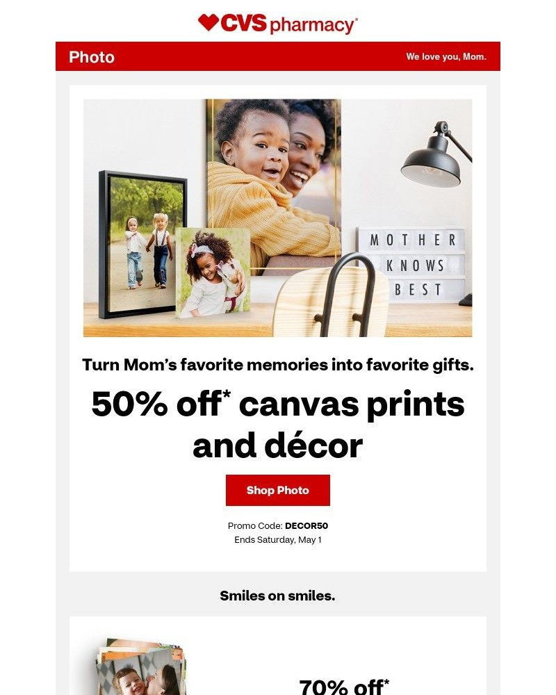 Screenshot of email with subject /media/emails/50-off-canvas-prints-and-decor-make-mom-happy-001fd1-cropped-f280e3e3.jpg