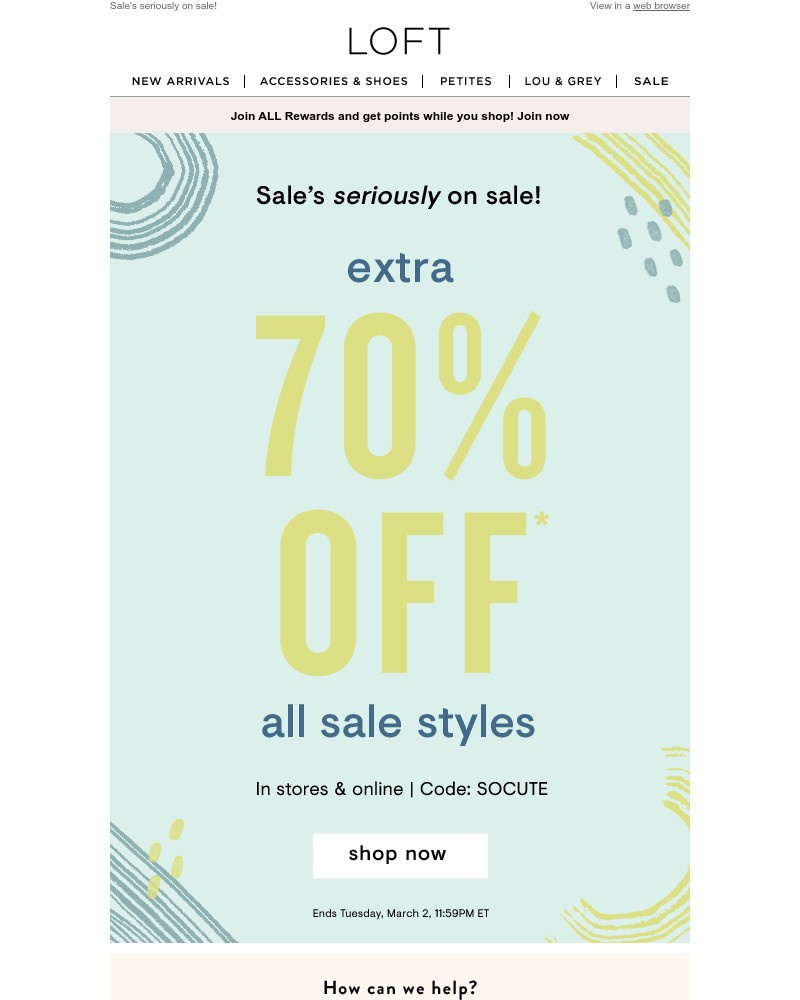 Screenshot of email with subject /media/emails/extra-70-off-all-sale-styles-132472-cropped-a5b8b43e.jpg