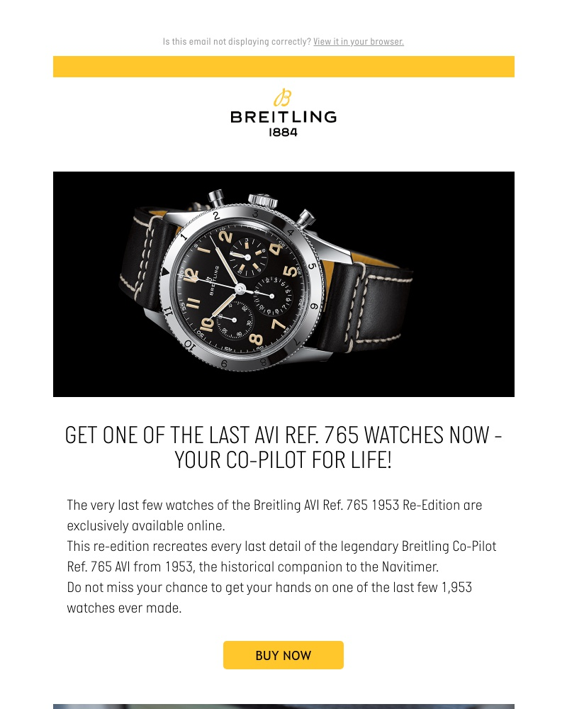 Screenshot of email with subject /media/emails/last-chance-for-this-historical-breitling-2cb836-cropped-14c44747.jpg