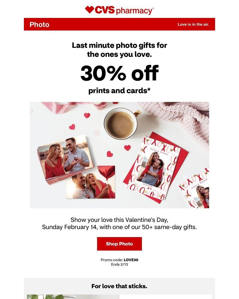 Screenshot of email with subject /media/emails/last-minute-photo-gifts-30-off-prints-and-cards-a40b38-cropped-31cded6c.jpg