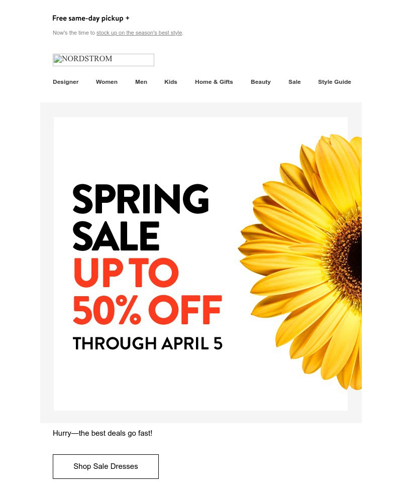 Screenshot of email with subject /media/emails/so-many-dresses-up-to-50-off-new-styles-for-spring-91da90-cropped-7705a267.jpg