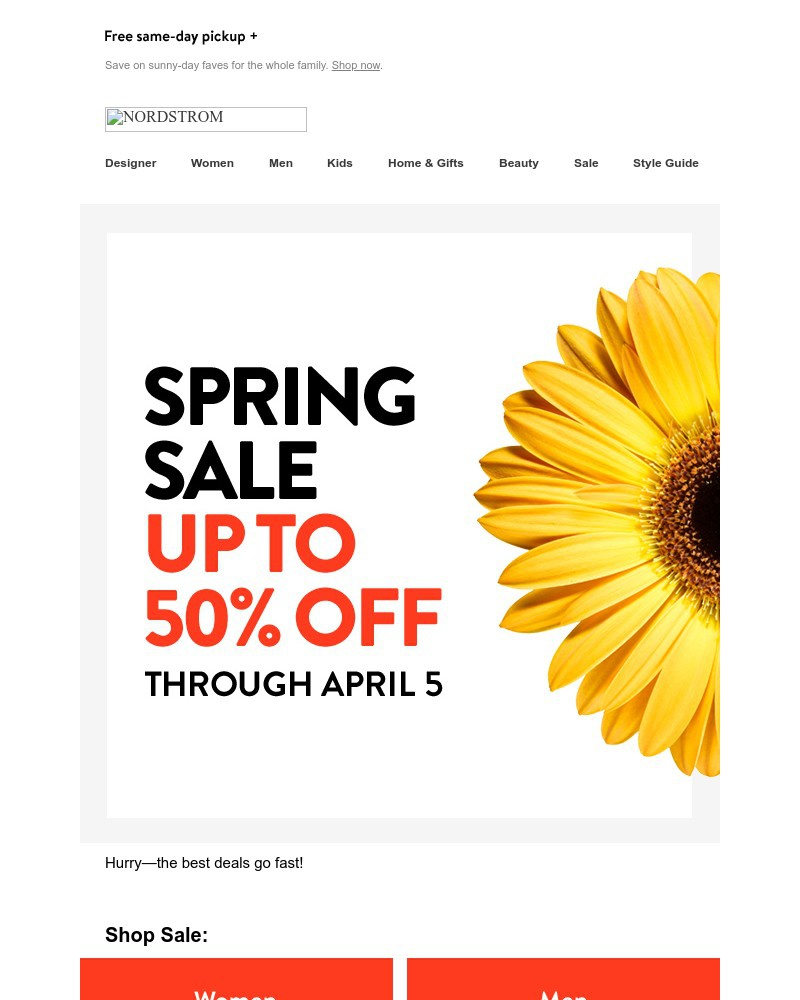 Screenshot of email with subject /media/emails/spring-sale-up-to-50-off-now-through-april-5-5af4a5-cropped-06e15389.jpg